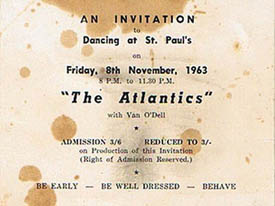 An invitation to dance with The Atlantics